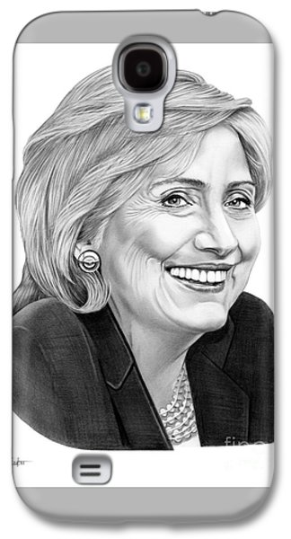 Hillary Clinton Galaxy S4 Case by Murphy Elliott