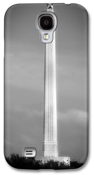 Battlefield Site Galaxy S4 Cases - Historic San Jacinto Monument Galaxy S4 Case by Mountain Dreams