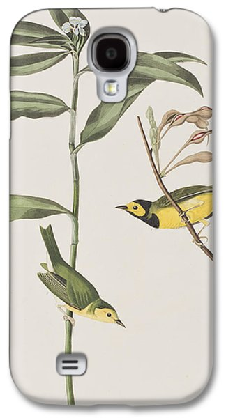 Hooded Warbler  Galaxy S4 Case by John James Audubon