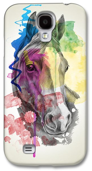 Horse   Galaxy S4 Case by Mark Ashkenazi