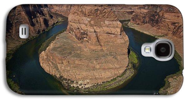 Landmarks Photographs Galaxy S4 Cases - Horseshoe Bend Galaxy S4 Case by Shawn Dechant