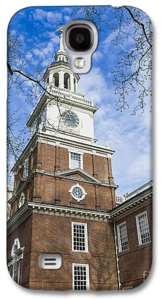 Landmarks Photographs Galaxy S4 Cases - Independence Hall Galaxy S4 Case by John Greim