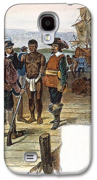 Slaves Galaxy S4 Cases - Jamestown: Slavery, 1619 Galaxy S4 Case by Granger