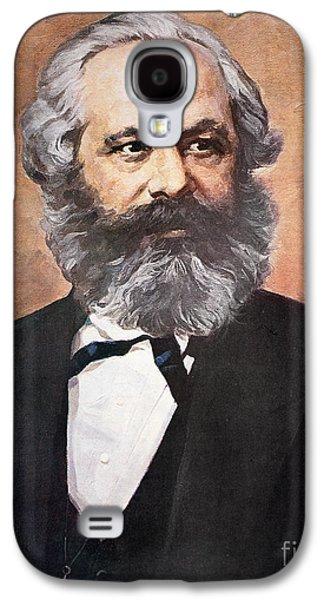 Karl Marx Galaxy S4 Case by Unknown