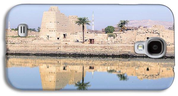 Ancient Galaxy S4 Cases - Karnak Temple - Egypt Galaxy S4 Case by Joana Kruse
