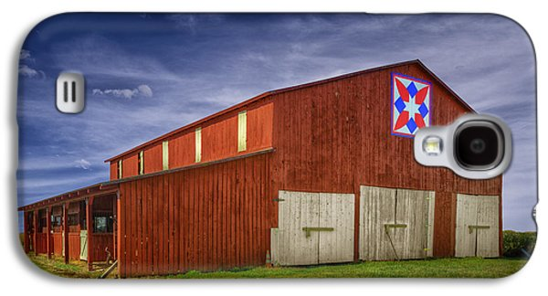 Kentucky Quilt Barn Galaxy S4 Case by Wendell Thompson