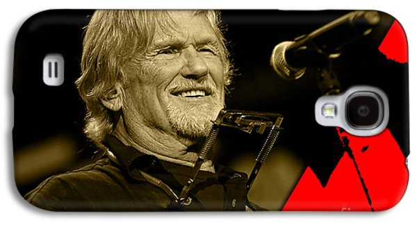 Kris Kristofferson Collection Galaxy S4 Case by Marvin Blaine