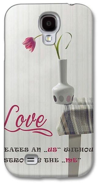 Table Cloth Galaxy S4 Cases - Love Galaxy S4 Case by Joana Kruse
