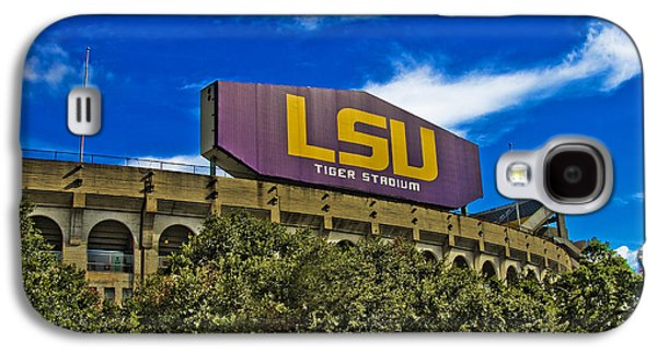 Lsu Tiger Stadium Galaxy S4 Case by Scott Pellegrin