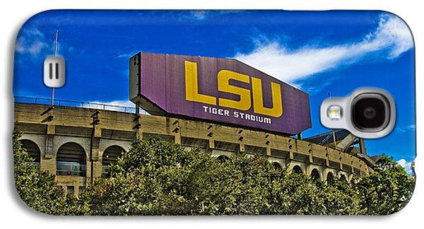 Louisiana State University Photographs Galaxy S4 Cases - LSU Tiger Stadium Galaxy S4 Case by Scott Pellegrin