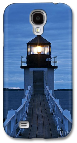 Navigation Galaxy S4 Cases - Marshall Point Light Galaxy S4 Case by John Greim