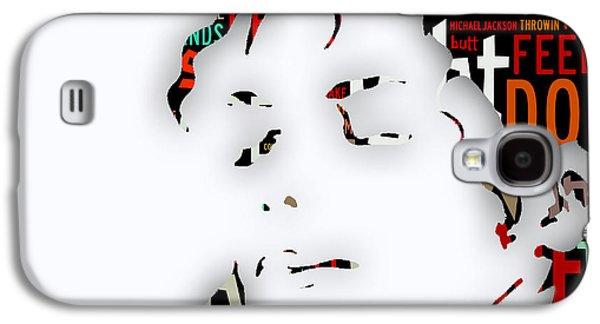 Michael Jackson I'm Bad Galaxy S4 Case by Marvin Blaine