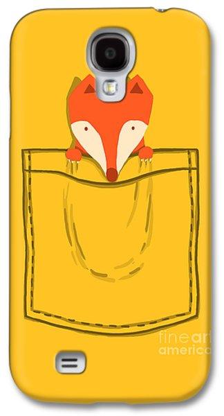 Fox Digital Galaxy S4 Cases - My Pet Galaxy S4 Case by Budi Kwan