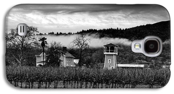 Napa Valley And Vineyards Galaxy S4 Cases - Napa Valley Vineyard On A Cloudy Day Galaxy S4 Case by Mountain Dreams