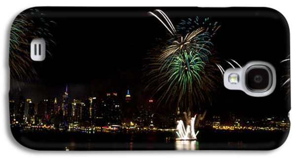 4th July Galaxy S4 Cases - New York City Fireworks Galaxy S4 Case by Anthony Totah
