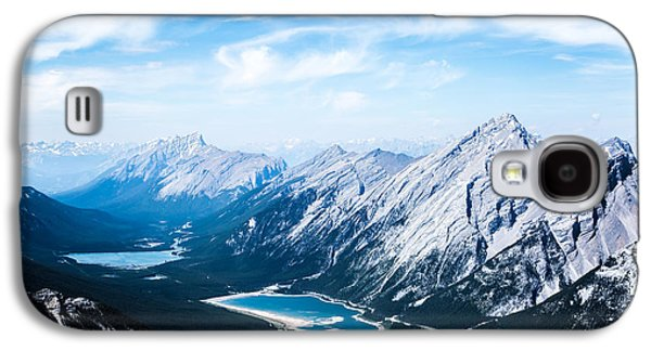 Canadian Pyrography Galaxy S4 Cases - Mountains #2 Galaxy S4 Case by Olga Photography