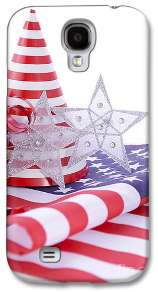 American Independance Galaxy S4 Cases - Patriotic party decorations for USA Events Galaxy S4 Case by Milleflore Images