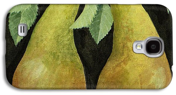 Pears Paintings Galaxy S4 Cases - Pears Galaxy S4 Case by Jennifer Abbot