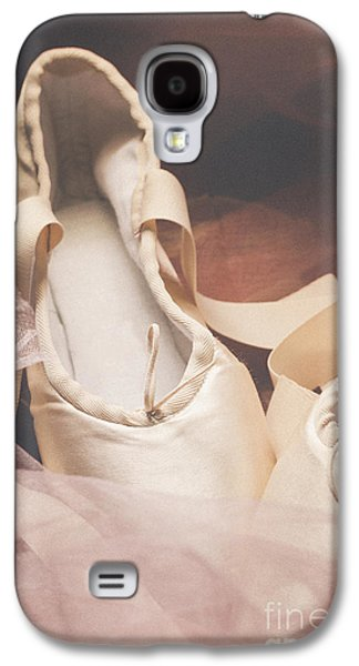 Still Life Pyrography Galaxy S4 Cases - Pointe Shoes Galaxy S4 Case by Jelena Jovanovic