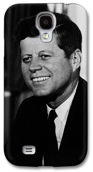 President Kennedy Galaxy S4 Case by War Is Hell Store