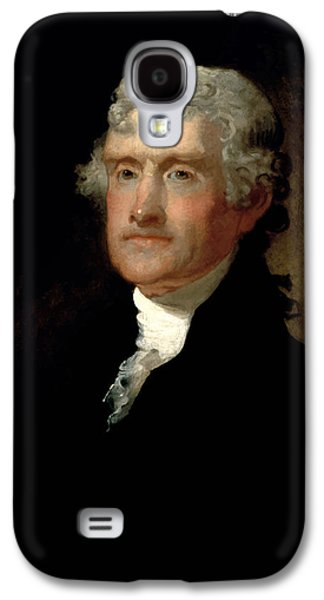Politician Paintings Galaxy S4 Cases - President Thomas Jefferson  Galaxy S4 Case by War Is Hell Store