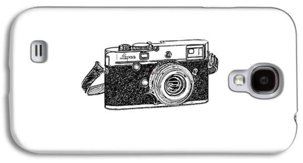 Rangefinder Camera Galaxy S4 Case by Setsiri Silapasuwanchai