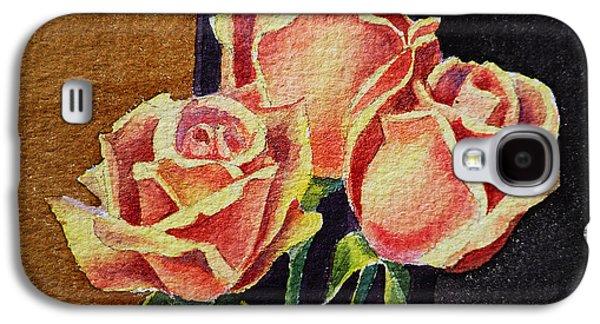 Roses   Galaxy S4 Case by Irina Sztukowski
