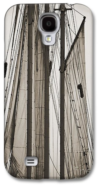 Historic Schooner Galaxy S4 Cases - Schooner Pride Tall Ship Charleston SC Galaxy S4 Case by Dustin K Ryan