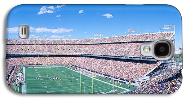 Sports Photographs Galaxy S4 Cases - Sell-out Crowd At Mile High Stadium Galaxy S4 Case by Panoramic Images