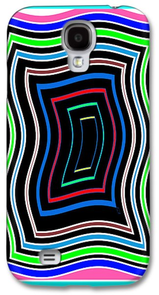 Animation Galaxy S4 Cases - Smart Graphics Techy Techno KIDS room lowprice wall posters graphic abstracts for throw pillows duve Galaxy S4 Case by Navin Joshi