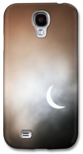 Solar Eclipse Galaxy S4 Cases - Solar Eclipse Galaxy S4 Case by Grant Glendinning