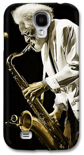 Sonny Rollins Collection Galaxy S4 Case by Marvin Blaine