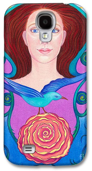 Religious Drawings Galaxy S4 Cases - Spirit Guide Mary Galaxy S4 Case by Debra A Hitchcock