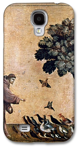 Francis Galaxy S4 Cases - St. Francis Of Assisi Galaxy S4 Case by Granger