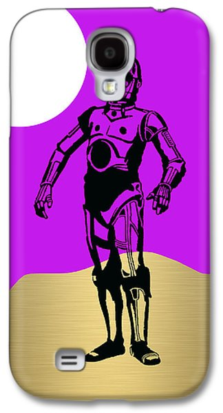 Star Wars C-3po Collection Galaxy S4 Case by Marvin Blaine