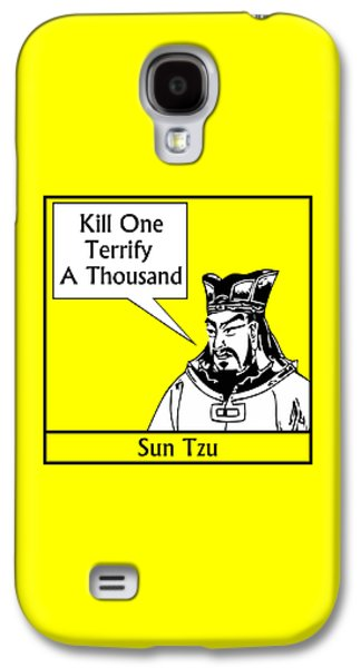 Leaders Galaxy S4 Cases - Sun Tzu Galaxy S4 Case by War Is Hell Store