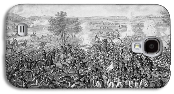 American History Galaxy S4 Cases - The Battle of Gettysburg Galaxy S4 Case by War Is Hell Store