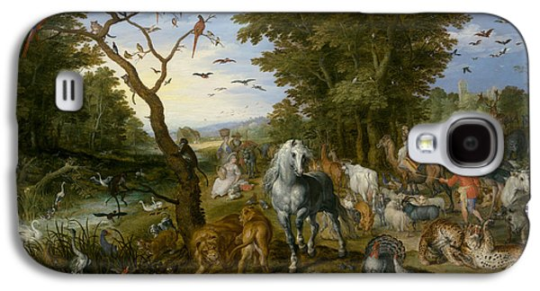 The Entry Of The Animals Into Noah's Ark Galaxy S4 Case by Jan Brueghel the Elder