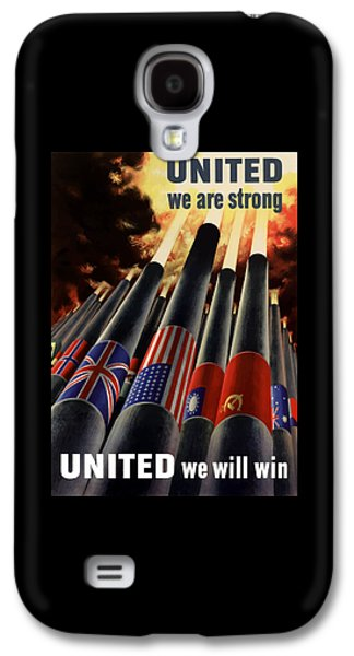 Nation Galaxy S4 Cases - The United Nations Fight For Freedom Galaxy S4 Case by War Is Hell Store