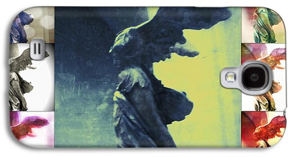 Style Life Photographs Galaxy S4 Cases - The Winged Victory - Paris - Louvre Galaxy S4 Case by Marianna Mills