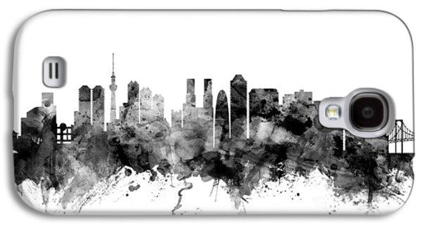 Tokyo Japan Skyline Galaxy S4 Case by Michael Tompsett