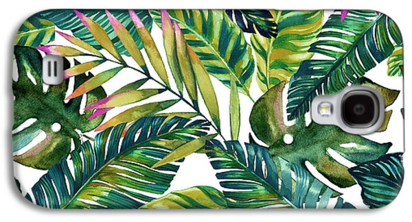 Tropical  Galaxy S4 Case by Mark Ashkenazi