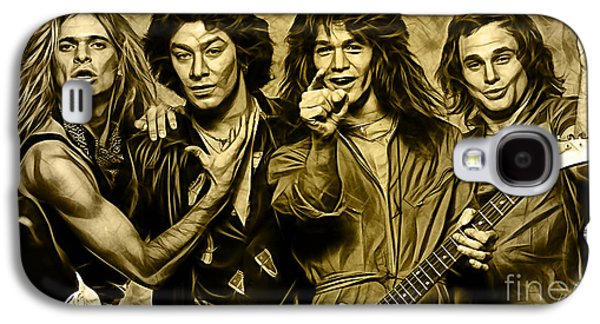 Van Halen Galaxy S4 Cases - Van Halen Collection Galaxy S4 Case by Marvin Blaine