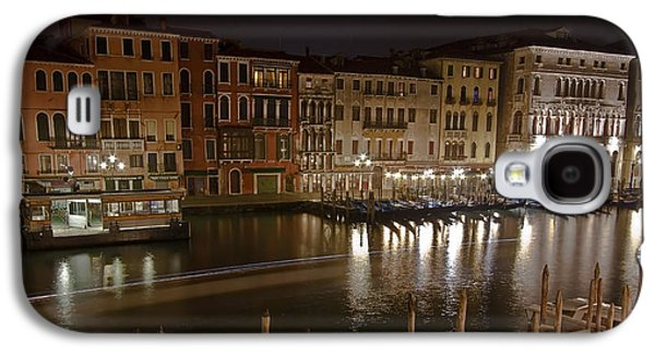Peaceful Scene Galaxy S4 Cases - Venice by night Galaxy S4 Case by Joana Kruse