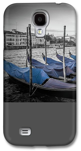 Ancient Galaxy S4 Cases - VENICE Grand Canal and St Marks Campanile Galaxy S4 Case by Melanie Viola
