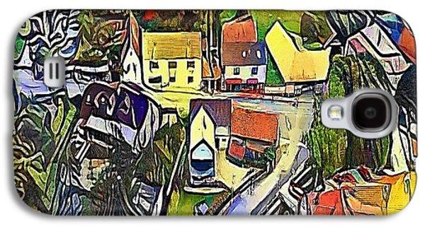 village - My WWW vikinek-art.com Galaxy S4 Case by Viktor Lebeda