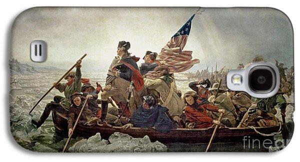 Washington Crossing The Delaware River Galaxy S4 Case by Emanuel Gottlieb Leutze