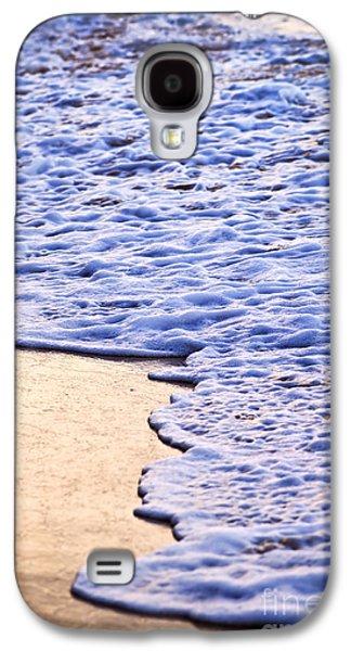 Getaway Galaxy S4 Cases - Waves breaking on tropical shore Galaxy S4 Case by Elena Elisseeva