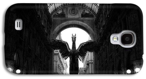Landmarks Sculptures Galaxy S4 Cases - Winged Pegasus  Galaxy S4 Case by Igor Saveliev