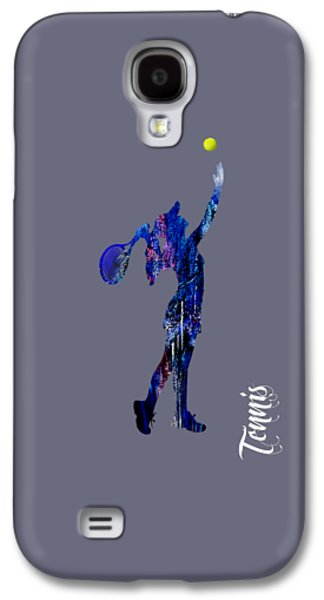 Tennis Galaxy S4 Cases - Womens Tennis Collection Galaxy S4 Case by Marvin Blaine